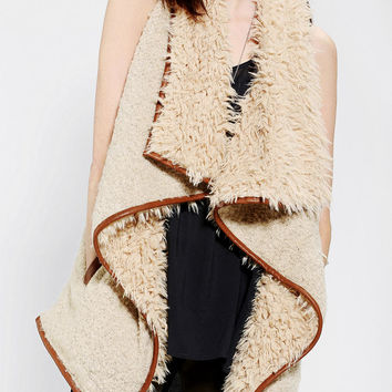Staring At Stars Drapey Sherpa Vest