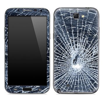 Shattered Glass Skin for the Samsung Galaxy Note 1 or 2