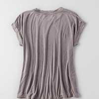 Don't Ask Why Boxy T-Shirt , Charcoal