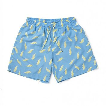 Boardies Zaps Mid Length Swimming Shorts - Swimming Trunks - Clothing | Shop for Men's clothing | The Idle Man