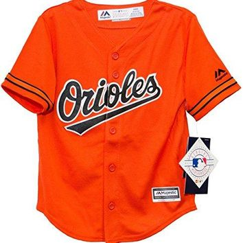 Baltimore Orioles Alternate Orange Cool Base Infant,Toddler, and Child Jersey