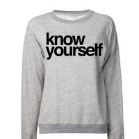 know yourself Sweat Shirt | Hip Hop Sweaters & Hoodies | Drizzy Hoodies Weed Sweaters | If youre reading this its too late drizzy Sweatshirt