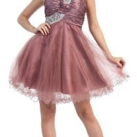 Special Sale!!! US Fairytailes One Shoulder Cocktail Party Junior Prom Dress #2709