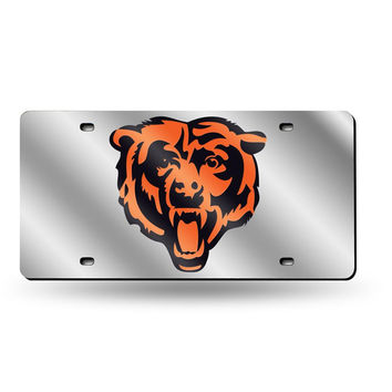Chicago Bears NFL Laser Cut License Plate Tag