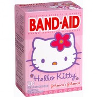 Band-Aid Hello Kitty Adhesive Bandages - 20 Count