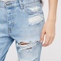 Free People Kick Crop Jean