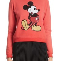 MARC JACOBS Mickey Shrunken Sweatshirt | Nordstrom