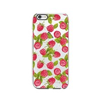 Rasberry Pattern Transparent Silicone Plastic Phone Case for iphone 7 _ LOKIshop (iphone 7)