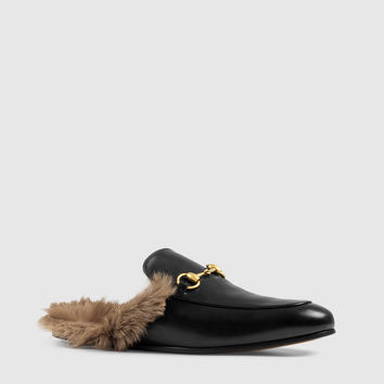Gucci - princetown leather slipper 397647DKH201063