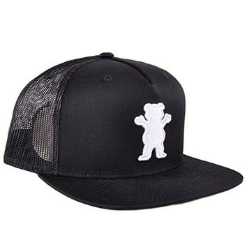 Grizzly Griptape Tucker OG Bear Snapback Hat