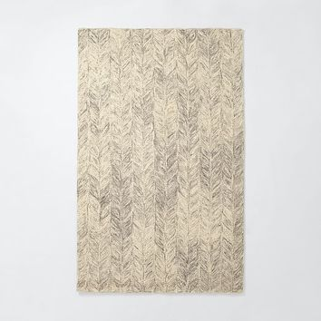 Vines Wool Rug - Neutral