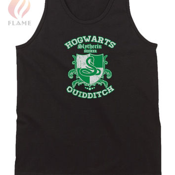 Slytherin Quidditch Tank Top