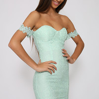 Scene Stealer Dress - Green