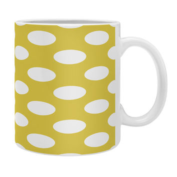 Allyson Johnson Brightest Chartreuse Coffee Mug