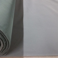 Best Price Solid Gray Flocking Velvet Fabric for Upholstery, Craft, Curtain, Drapery Material Sold by The Yard 54 inch W - Commercial Sale