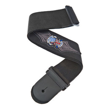 Planet Waves 64P01 Patch Guitar Strap, Live Free