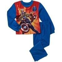 Avengers Boys' License 2 Piece Pajama Sleep Set - Walmart.com