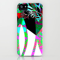 abstract trees iPhone & iPod Case by clemm