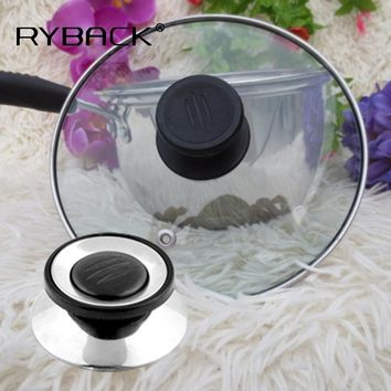 Universal Cookware Pot Cover Handle Knob Pan Lid Replacement Screw Circular Utensil Cover Holder