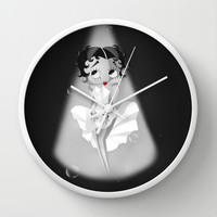 Betty Boop Origami Wall Clock by LouJah