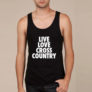 Live Love Cross Country Tank Top