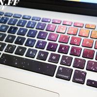 keyboard decal/Macbook decal/Macbook Pro Keyboard Skin/Macbook Air Sticker/apple/wireless keyboard/vinyl sticker yuzhou