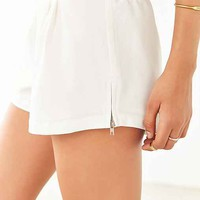 Silence + Noise Crepe Side-Zip Short
