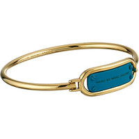 Marc by Marc Jacobs Key Items Colored Ring Around Plaque Hinge Bracelet
