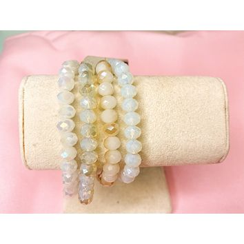 Iridescent Bracelet Set