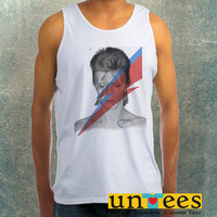 David Bowie Clothing Tank Top For Mens