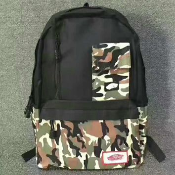VANS Camouflage Trending Fashion Sport Laptop Bag Shoulder School Bag Backpack G-JJ-MYZDL-2