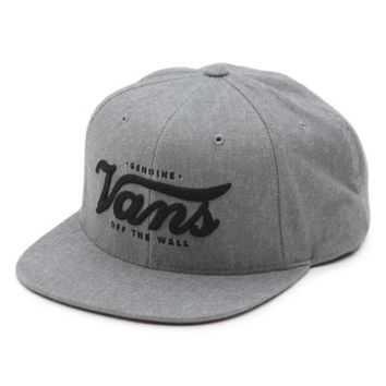 Vans Genuine Snapback Hat (Heather Grey)