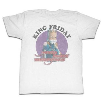 Mister Rogers King Friday Mens T-Shirt