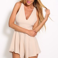 Bright Future Playsuit Nude