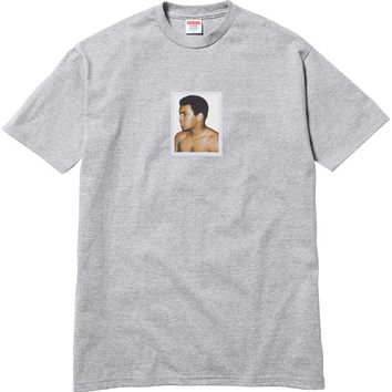 Supreme: Ali/Warhol Tee - Heather Grey