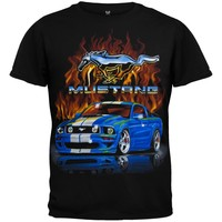 Ford - Flaming Mustang Youth T-Shirt
