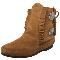 Minnetonka Women's Two Button Boot