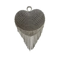 Sadie Sweetheart Rhinestone Evening Clutch