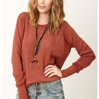 Parker - Open Back Sweater