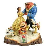 "Disney Traditions by Jim Shore Beauty and the Beast Figurine ""Tale as Old as Time"" (4031487)"