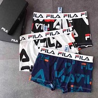 Fila Men Fashion Comfortable Underpant Brief Panty