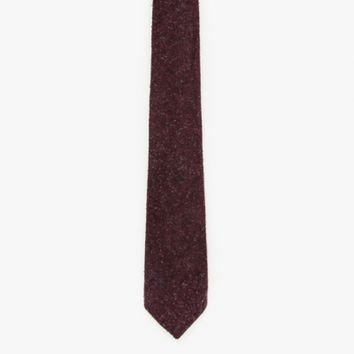 Apolis Wool Tie in Cranberry