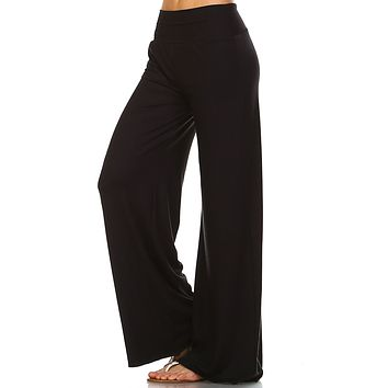 Black Palazzo Pants - Women & Plus