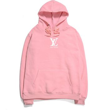 LV flame men and women long sleeve sets