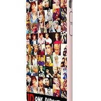 One Direction Collection Custom Case for Iphone 5/5s Iphone 6/6 Plus Black and White (iPhone 6 White Plastic)