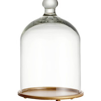 H&M Glass Dome with Plate $17.95