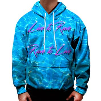 Live To Rave Rave To Live Hoodie