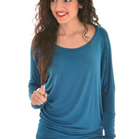 LUXURIOUS LS COMFY FIT IN BLUE