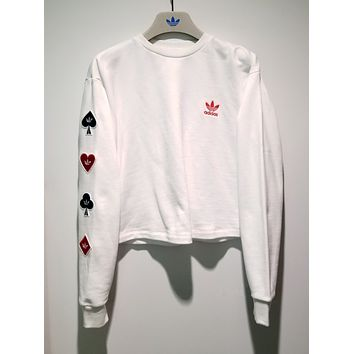adidas Playing Card Crew Neck Sweatshirt