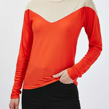 Illusion Long Sleeve Tee by Boutique